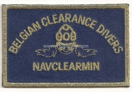 belgian clearance divers navclearmin