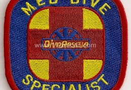 dive rescue med dive specialist