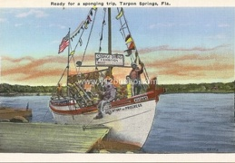 ready for sponging trip tarpon springs