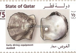 qatar early diving equipment mahar