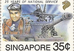 singapore 25 years service
