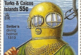 tk siebe diving helmet 1819